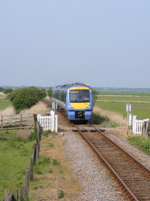 Level Crossing close to Breydon Water