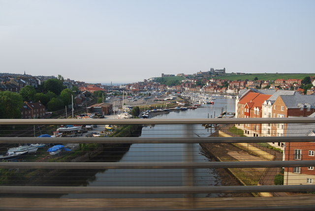 Whitby seen from the High level bridge