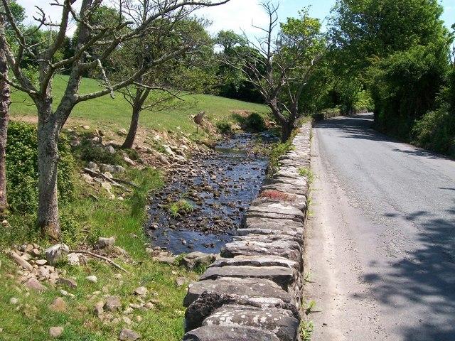Afon Dwyryd at Pont y Ddwyryd