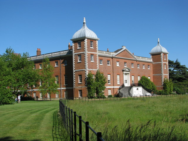 Osterley House from the garden