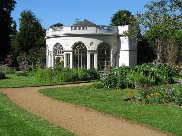 Orangery in the garden of Osterley House