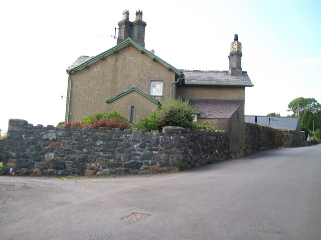 The farmhouse of Llwyn Hudol