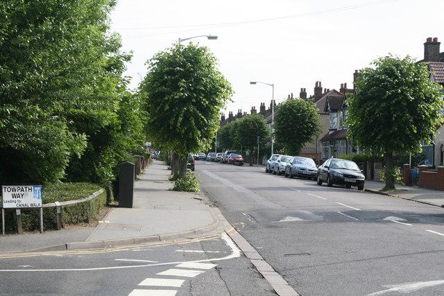 Croydon: Davidson Road