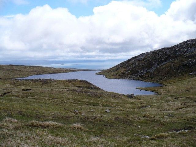 Jura hill loch