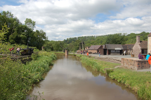 Canal at Blists Hill