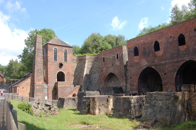 Old foundry at Blists Hill