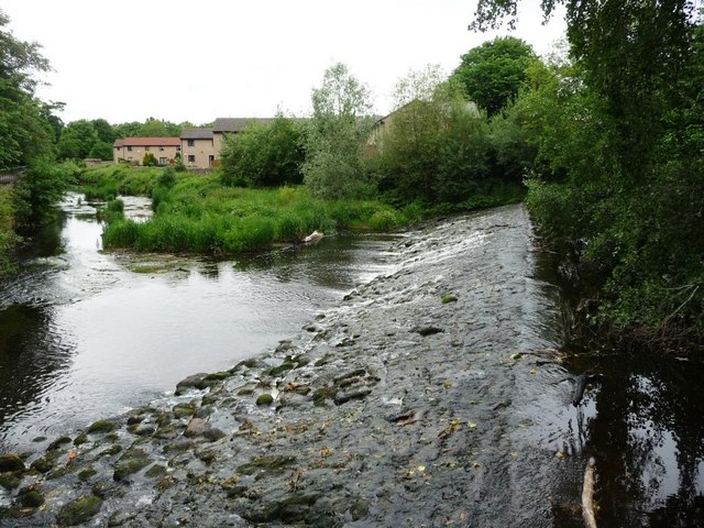 Redbraes Weir on the Water of Leith