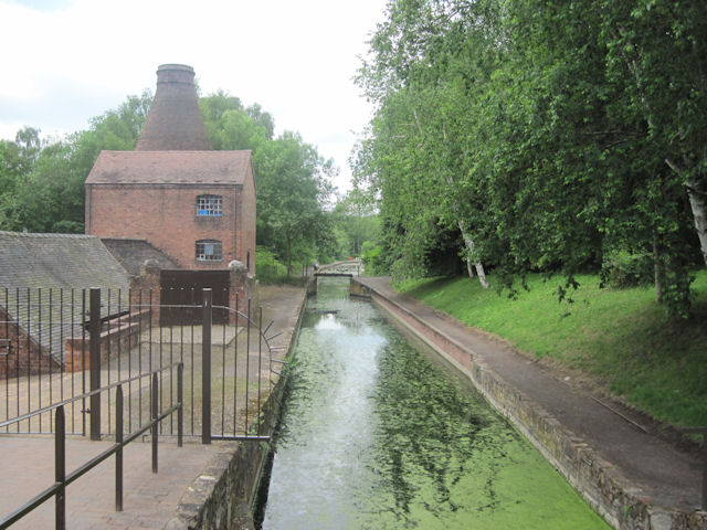 Canal at Coalport Museum