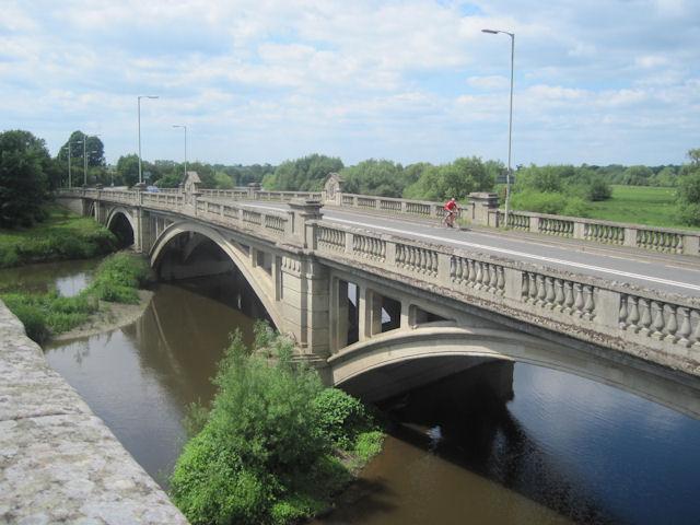 Atcham new bridge