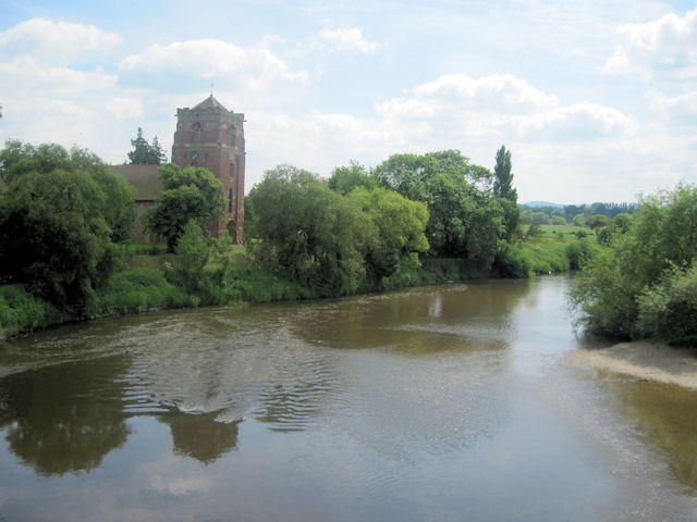 Severn from Atcham Old Bridge