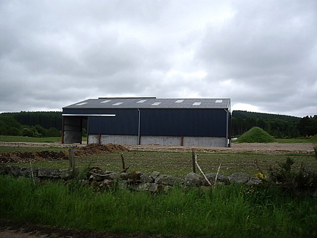 A new barn at Balbridie