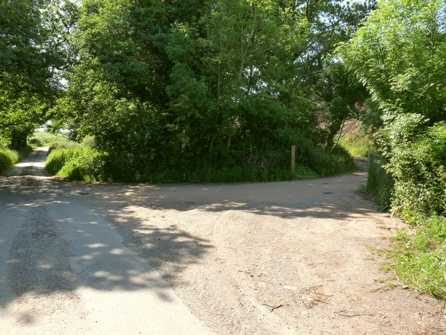 The entrance to the Disused Mine Works on a lane near Barton Close Farm
