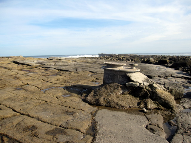 Filey Brigg - sewage pipeline