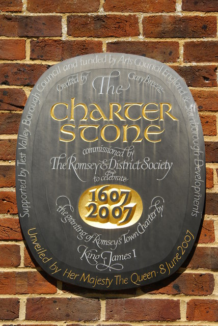 The Romsey Charter Stone (1)