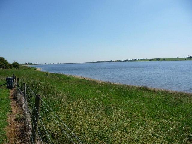 Northern shoreline, Blithfield reservoir