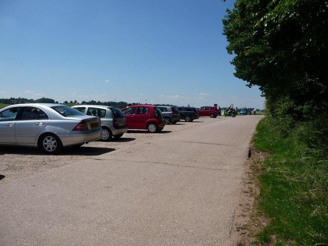 Blithfield Reservoir car park