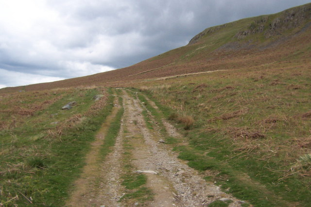 Bridleway below White Knott