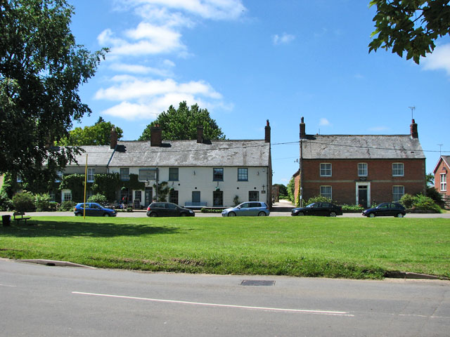 Cottages on the green, Great Massingham