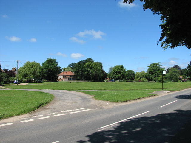 The village green in Great Massingham