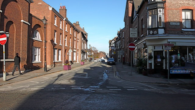 Junction of Market Street and High Street, Altrincham