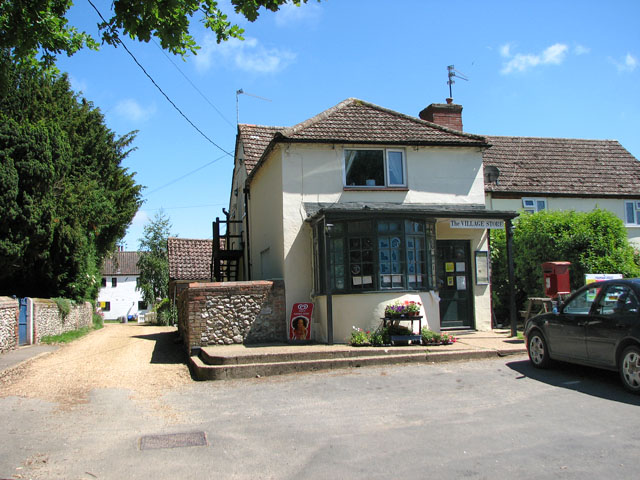 The village shop in Great Massingham