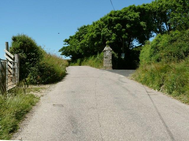 An Entrance to Buckland Manor and Buckland Barton