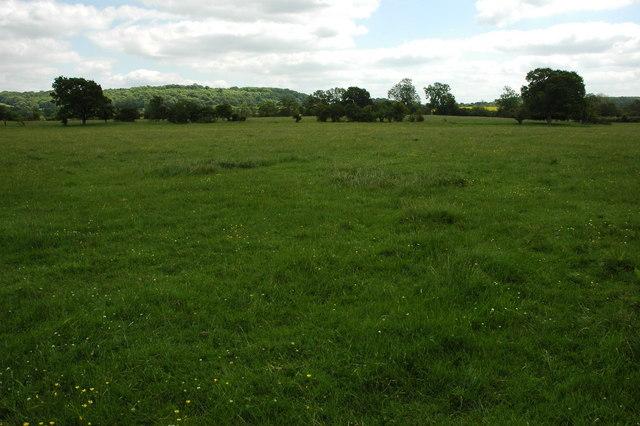Farmland at Morton Bagot