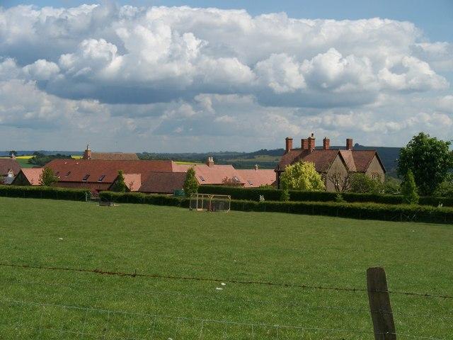 Farm and barns