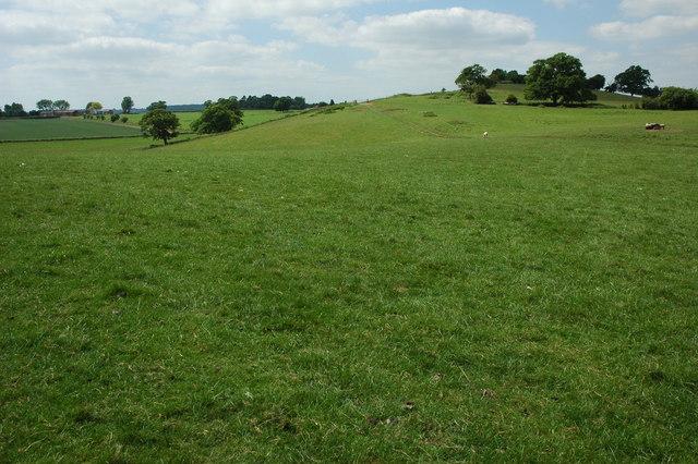 Farmland near Castle Farm