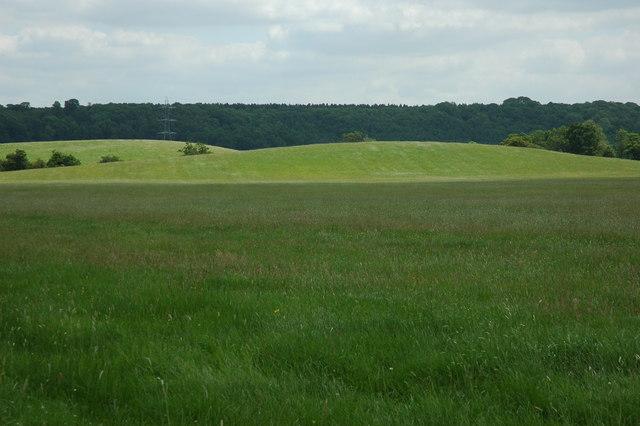 Undulating farmland near Morton Bagot