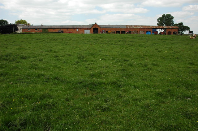 Farm buildings, Castle Farm