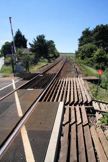 Railway line to Cambridge