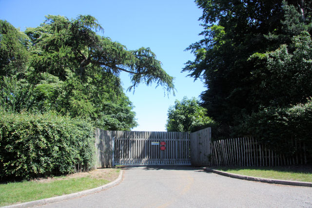 Side entrance to Hadrian Stud