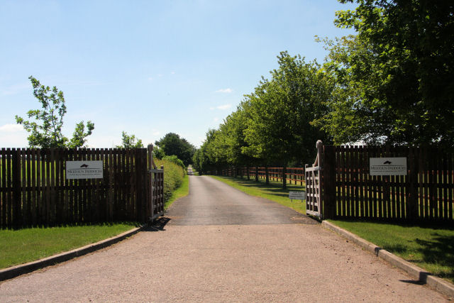 Entrance to the Mertoun Paddocks
