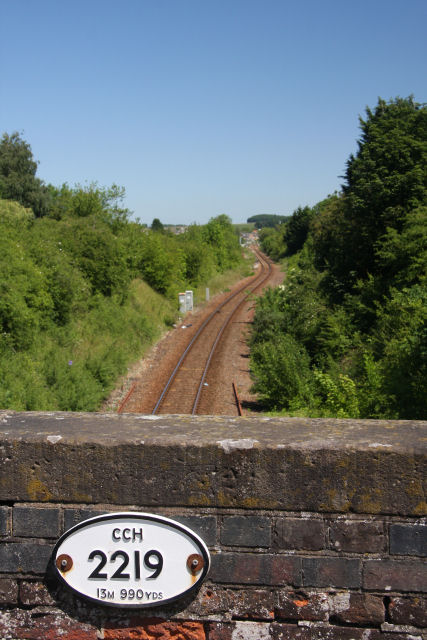 Cambridge to Newmarket railway line