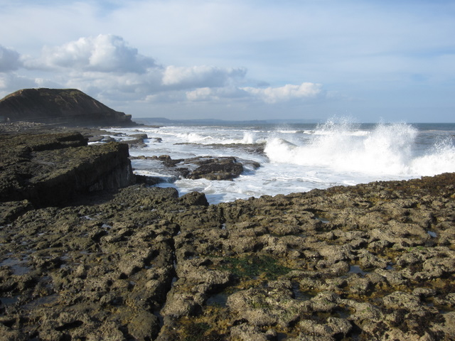 Filey Brigg - the north side