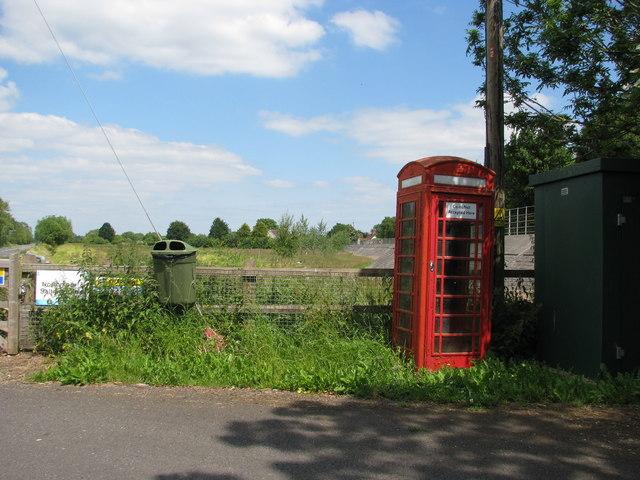 Phone box at East Lyng