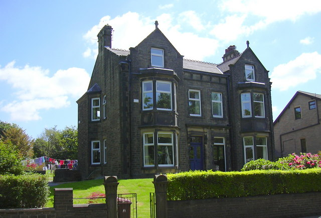 Pair of Victorian Houses, Queen's Park Road, Burnley