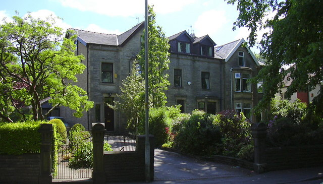 Victorian Houses, Queen's Park Road, Burnley
