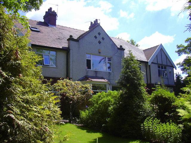 Edwardian Houses, Queen's Park Road, Burnley
