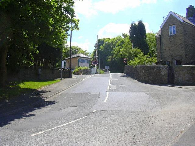 Railway Crossing, Hufling Lane-Moseley Road, Burnley