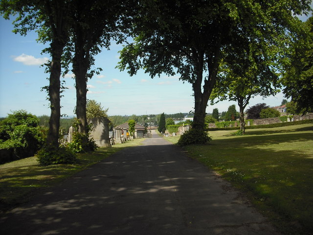 Old Monkland cemetery