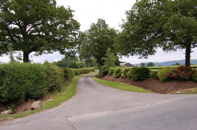 Entrance to Strangwood Farm