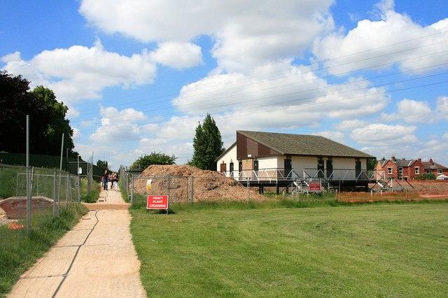 Beeston Weir Recreation Ground  Pavilion