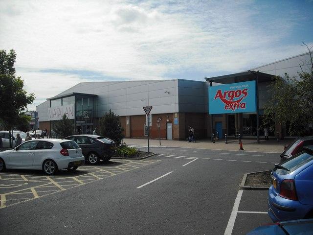 Faraday retail park