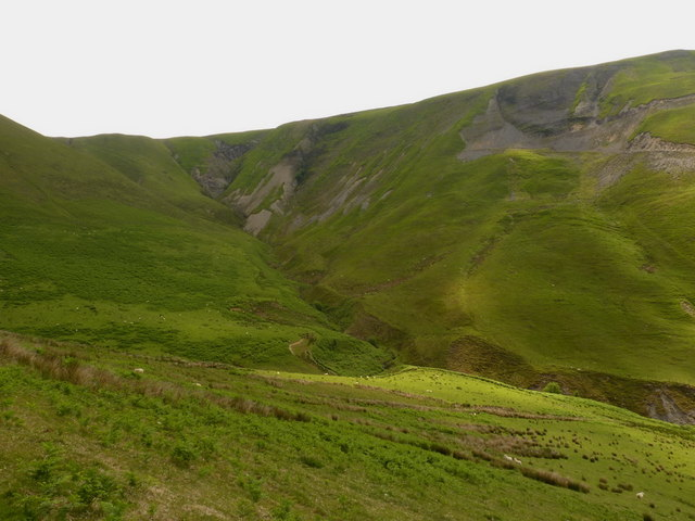 The head of Cwm Cerddin