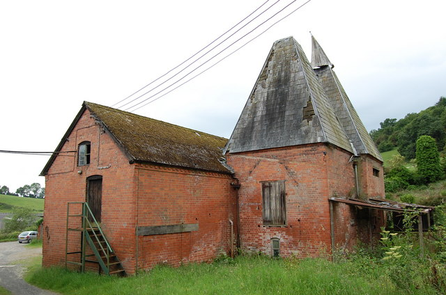 Rear view of Derelict Oast House