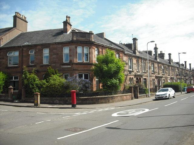 King Street at Finlaystone Street