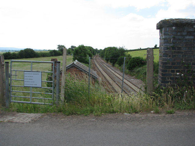 Railway at West Lyng