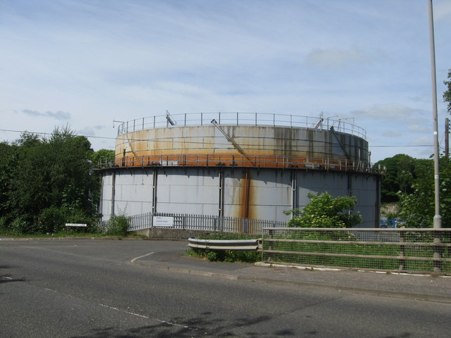 Gasometer at Galafoot